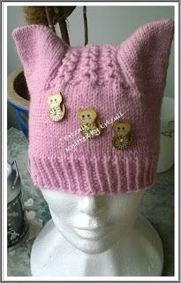 Langoista Leikiten: Kissapipo Knit Crochet, Crochet Hats, Mittens, Knitted Hats, Winter Hats, Barn, Beanie, Takana, Knitting