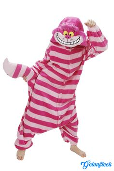 Cheshire Cat Adult Onesie - Shop our entire collection of adult onesies! http://getonfleek.com