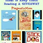 Say It Ain't So: My Child Is a Reluctant Reader & GIVEAWAY