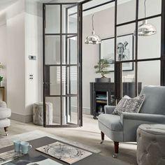 Двери в стиле лофт: эстетика индастриала и нечто большее, чем просто вход http://happymodern.ru/dveri-v-stile-loft/ Современный интерьер гостиной с холодным оттенком Смотри больше http://happymodern.ru/dveri-v-stile-loft/