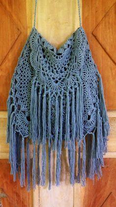 Crochetology by Fatima: Ala Miss June Desert Bag - Free People crochet purse DIY