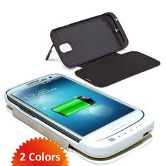 Samsung Galaxy S4 Rechargeable Case - Charge on the Go -- 71% Off only at Clearance.co These are a HOT Seller! #samsung #phonecases #galaxy #electronics #accessories #sale