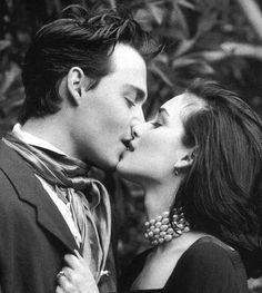 How they could be both romantic... | 21 Reasons Johnny Depp And Winona Ryder Should Get Back Together