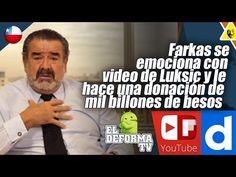 3 Farkas se emociona con video de Luksic y le hace una donación de mil b...