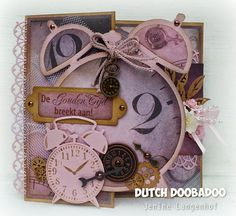 'Back in Time' card by Jenine Langenhof. - Wendy Schultz ~ Cards 1.