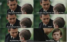 so so moving... finding neverland