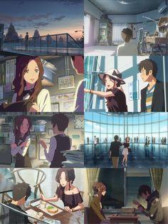 Kimi no na wa Film Your Name, Your Name Anime, Kimi No Na Wa Wallpaper, Name Wallpaper, Your Name 2016, Kawaii Chan, Studio Ghibli Movies, Anime Couples Drawings, Manhwa