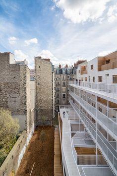 AAVP - Vincent Parreira - Immeuble Less à Paris - 8