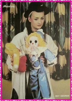 Elegant Boy George 80s Costume