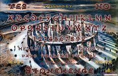 Stonehenge Ouija Board