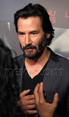 Keanu Reeves attend the premiere of Lionsgate's 'Knock Knock' at TCL Chinese 6 Theatres in Hollywood. 10 / 08 / 15