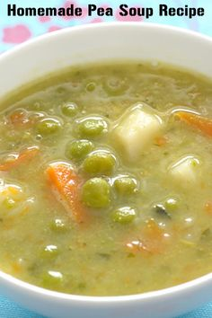 This classic pea soup recipe shows you how to combine vegetables with bacon, milk and broth to make something fresh and delicious for the whole family to enjoy. Suitable for lunch, dinner or supper, this rich soup is very filling.