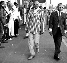 Congolese Sapeurs in Cape Town by Noncedo Charmaine