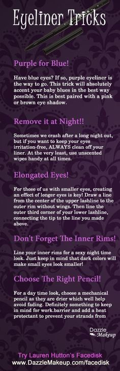 #15 hack- have been using purple for years. People actually stare at my eyes & say they are gorgeous & amazing and apologize for staring at them them!!