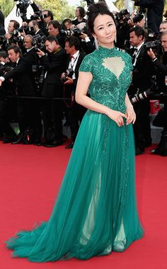 Cannes Film Festival 2015: The Most Breathtaking Dresses | Zhao Tao | EW.com