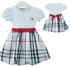 FREE SHIPPING Burberry Plaid Girls Dress, 3 colors, sizes: 2T-6 years | EmeseBoutique - Children's on ArtFire