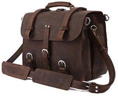 Skinnvesker / bag / skinn / briefcase / leather goods / Popper fra www.lyle-d.com