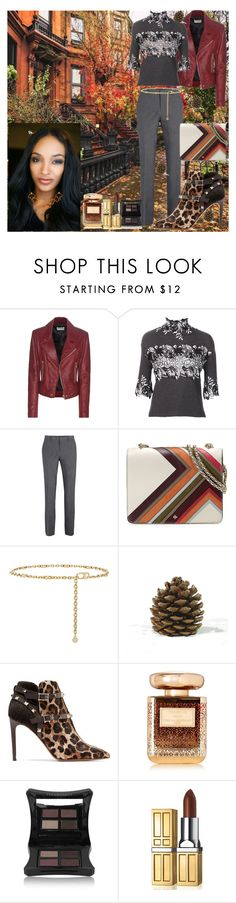 """Fall in the City requires Heels"" by denibrad ❤ liked on Polyvore featuring Balenciaga, Giambattista Valli, Tory Burch, Valentino, Dunn, By Terry, Illamasqua and Elizabeth Arden"