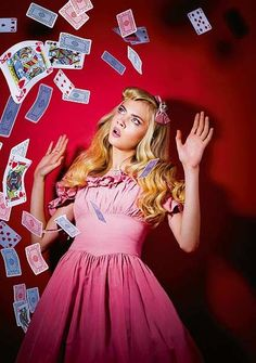 Alice in Wonderland / karen cox.  Cara Delevingne - Inspiration for Photography Midwest