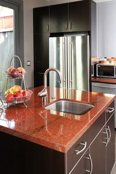 28 Best Vibrant Red Granite Kitchen Countertops Images Granite