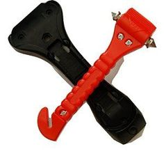 This Car Hammer Could Be Your Life Saver. http://www.amazon.com/Car-Hammer-Emergency-LifeHammer-Must-Have/dp/B00CB8WM2S