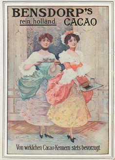 dv Bensdorp Cacao 1911