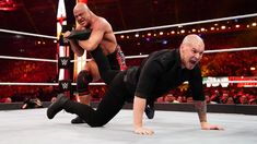 Kurt Angle's farewell match does not go as planned as Baron Corbin shockingly defeats the WWE Hall of Famer at WrestleMania. Seth Rollins, Wwe Photos, Cool Photos, Wrestlemania 35, Baron Corbin, Kurt Angle, Wwe Pay Per View, Wwe News, The Championship