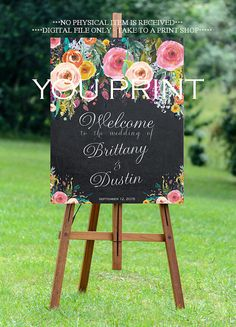 signo de boda para imprimir signo de boda por OurFriendsEclectic
