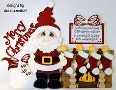 listed on ebay...danderson651 Santa, Christmas, Fireplace, Paper Piecing, Scrapbooking, Album, Premade, Border paperdesignz.com facebook - danderson651