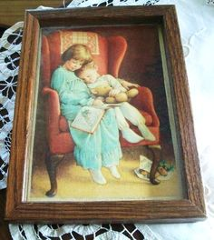 Vintage Christmas Eve Print Children Waiting for by naturepoet, $10.00
