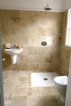 Wet Room With Tiled Walls And Floor Malvern Hills Furniture Bathroom Shower Designssmall