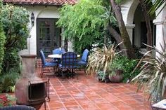 Image result for  spanish patio pavers entry courtyard