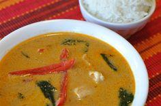 Thai Panang Curry Chicken Soup - Allergy Free Alaska #glutenfree #paleo…
