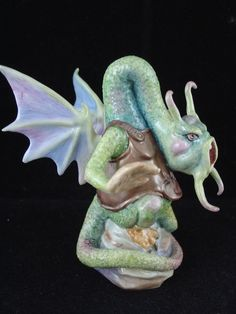 BRONTE LTD. EDITION CANDLE SNUFFER ALICE THROUGH THE LOOKING GLASS - JABBERWOCKY