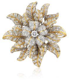 A DIAMOND BROOCH Christie's Statement Jewels                                                                                                                                                                                 More
