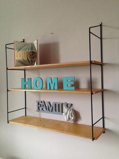 Mid century 60's original retro shelf
