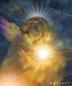 Anjo de Luz...                  Light Angel... - Lelia  Sarda