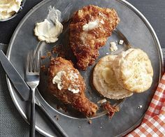 Fried Chicken with Paprika and Honey Butter Recipe