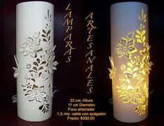 Resultado de imagen para PVC CALADO LAMPARA