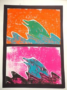 toThomas Elementary Art: 4th Grade Animal Printmaking (The best printmaking project I have ever done!)