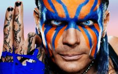 WWE Legend Jeff Hardy was one-half of the legendary pro-wrestling tag team, The Hardy Boyz. Along with his brother, Matt Hardy, the duo stood out in WWE for over a decade both together and . Jeff Hardy Face Paint, Hardy Brothers, Wwe Jeff Hardy, Wrestlemania 31, The Hardy Boyz, Wrestling Videos, Aj Styles, Wwe News, Professional Wrestling
