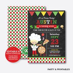 Pizza Boy Chalkbo... http://partyandprintables.com/products/pizza-boy-chalkboard-kids-birthday-invitation-editable-instant-download-ckb-477b?utm_campaign=social_autopilot&utm_source=pin&utm_medium=pin #partyprintables #birthdayinvitation #partysupplies #partydecor #kidsbirthday #babyshower