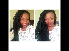 DETAILED Tutorial: How to do Faux Yarn Dreads/Locs - YouTube