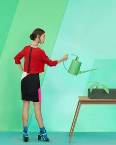 Kristina Varaksina #fashion #photography #editorial