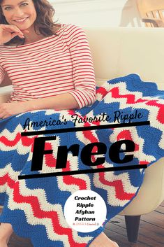 America's Favorite Crochet Ripple Throw