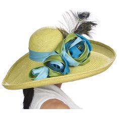 383aa315850 Christine A. Moore Tiffany - Panama Big Brim Hat