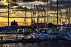 #atardecer #sunset #marinadelsur #Tenerife