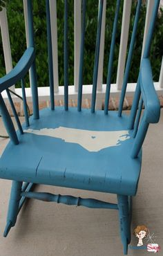North Carolina on my Mind Rocking Chair