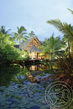 Maitai Lapita Village, Huahine island, French Polynesia ✯ ωнιмѕу ѕαη∂у