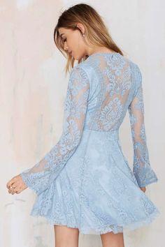 gorgeous blue lace
